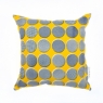 press res navy and yellow spots and dots front