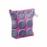 Sunny Todd Prints Spots and Dots Washbag – Navy & Pink FOR OUR WEBSITE