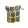 Sunny Todd Prints Spots and Dots Washbag – Navy & Yellow FOR OUR WEBSITE