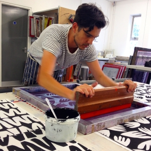 9cfc5575 One Day Silk Screen Printing Workshop - Sunny Todd Prints Shop