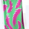 Blanket Feather Pink and Green High Res