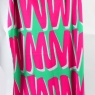 Blanket Zig Zag Pink and Green High Res