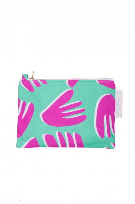cut out PM floral pouch