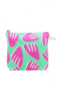 cut out PM floral wash bag