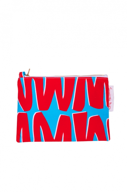 cut out RB Zigzag pouch