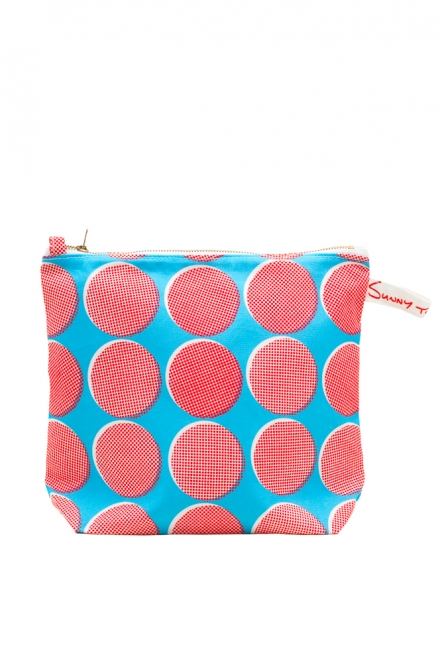 cut out RB spots washbag