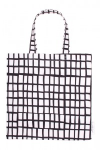 cut out black square bag