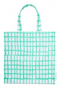 cut out mint square bag