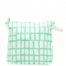 cut out mint square wash bag